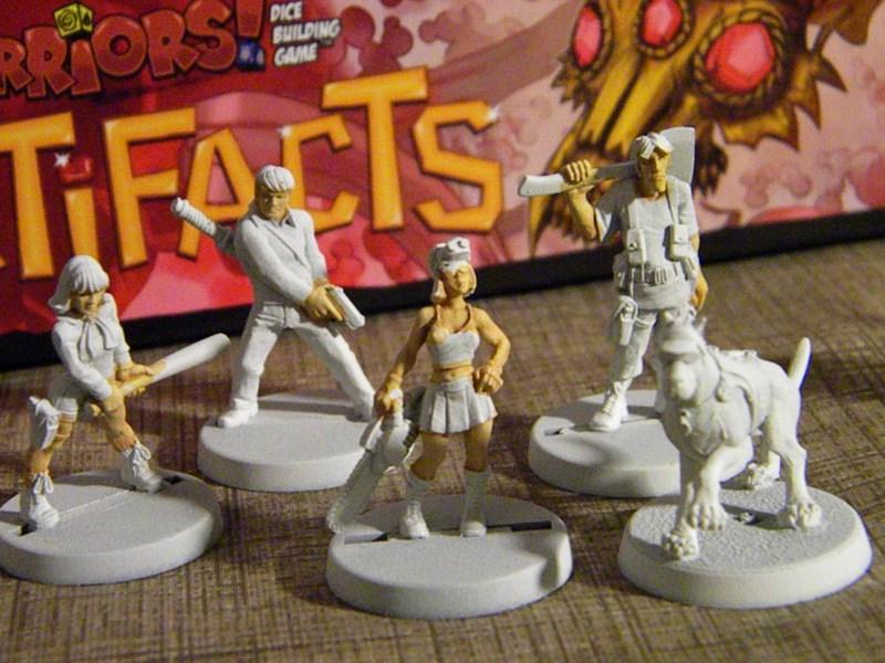 Daphnée, Fred, Vera, Samy et Scooby